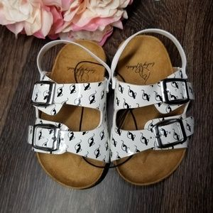 Baby Phat Double Buckle Sandals